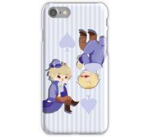 USUK Cardverse King & Queen of Spades Hetalia iPhone Case/Skin
