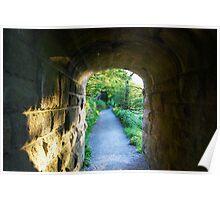 Bridge at Bolton Abbey North Yorks Poster