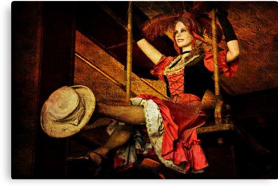 Sadie, Sadie...Flying Lady! by pat gamwell