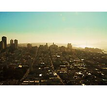 View from Coit Tower Photographic Print