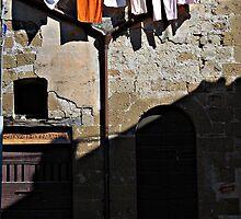 Darkened Door-Pitigliano, Italy by Deborah Downes