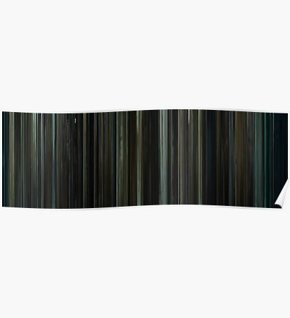 Moviebarcode: Fight Club (1999) Poster