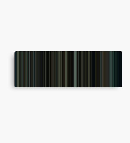 Moviebarcode: Fight Club (1999) [Simplified Colors] Canvas Print