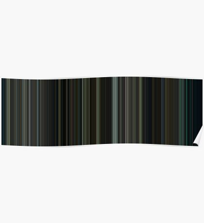 Moviebarcode: Fight Club (1999) [Simplified Colors] Poster