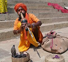 Indian Snake Charmer by lorisong