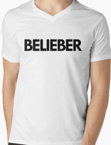 BELIEBER Mens V-Neck T-Shirt
