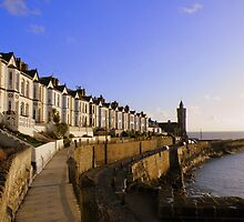 Cornwall: Evening Light at Porthleven by Rob Parsons