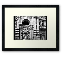 abandoned building Framed Print