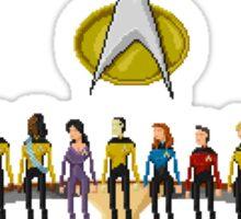 Star Trek: The Next Generation - Pixelart Crew Sticker