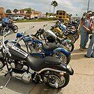 Bikes and bikers by Larry  Grayam