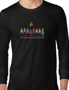 Star Trek: The Original Series - Pixelart crew Long Sleeve T-Shirt