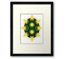Bowser Shell Framed Print