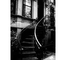 """I want to walk up these stairs and into our life."" SK Photographic Print"