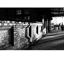 Path To The Station Photographic Print