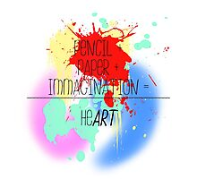 heART. - colorful Photographic Print