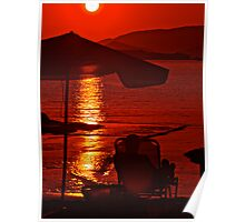 Quite simply, the  Red Miracle .Bali . Views (351) Thanks !!! +Featured  i the Monochrome in Color Group+  Poster
