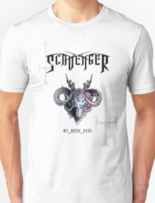 SCAVENGER 'WE_MOSH_HARD' Unisex T-Shirt