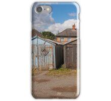 Garages Panoramic iPhone Case/Skin
