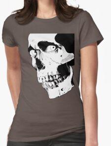 Evil Dead Skull Womens Fitted T-Shirt
