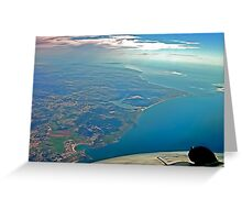 Peniche - Foz do Arelho - S.Martinho - Portugal Greeting Card