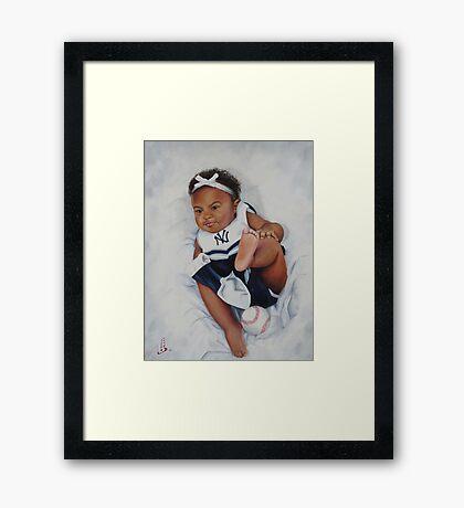 Yankee Baby Framed Print