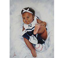 Yankee Baby Photographic Print