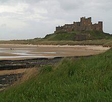 Bamburgh Castle by WatscapePhoto