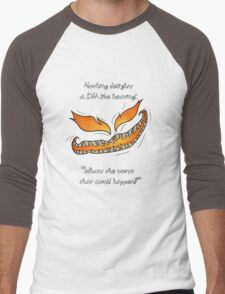 Nothing Delights a Dungeon Master like: Men's Baseball ¾ T-Shirt