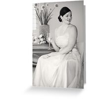 Forever vintage Greeting Card