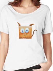 Square Cat Tee Women's Relaxed Fit T-Shirt