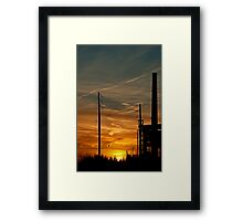 Coda. Wired and stacked to the end. Framed Print