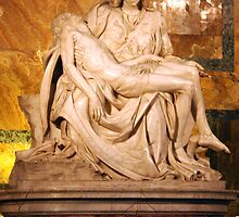 Michaelangelo's Pieta by Kent Nickell