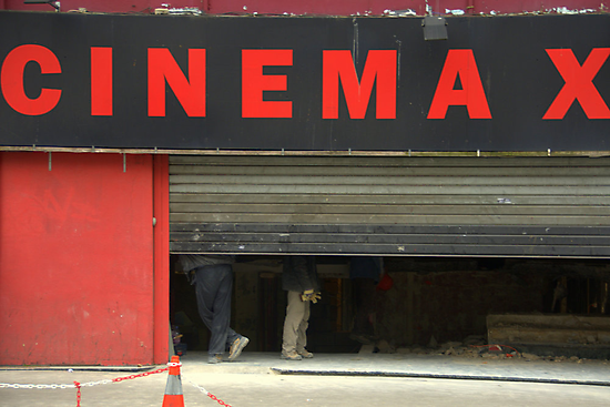 Paris - CINEMA X by Jean-Luc Rollier
