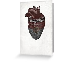 Campbell's Heart Greeting Card