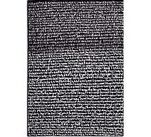 """Dictionary 34"" (kidney stone-latitudinarian) Photographic Print"
