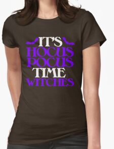 Hocus Pocus Witches Womens Fitted T-Shirt