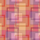 Squares Wallpaper by Ginny Schmidt