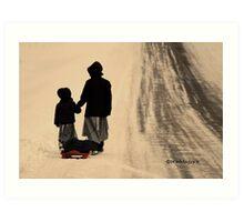 A Sister's Love...  Art Print