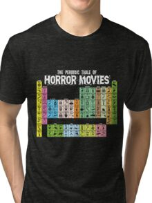 Periodic Table of Horror Movies Tri-blend T-Shirt