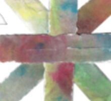 Watercolor Asterisk Sticker