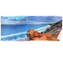 Rainbow Beach - Double Island Point Poster