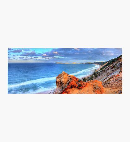 Rainbow Beach - Double Island Point Photographic Print