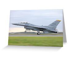 Touch Down Greeting Card