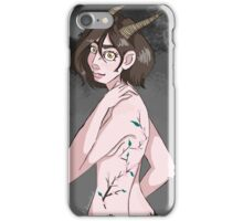 Lady-Satyr iPhone Case/Skin