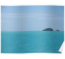 Caribbean Island - Coast of Antigua Poster
