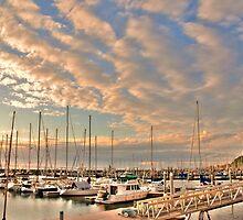 Boat Lot, Golden Gardens, Seattle, WA by Whitney Mason