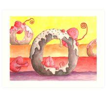 Rainbow Sprinkles Art Print