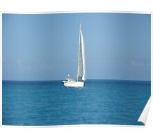 Caribbean Peacefulness Poster