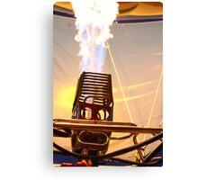 Fire Robot  Canvas Print