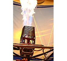 Fire Robot  Photographic Print